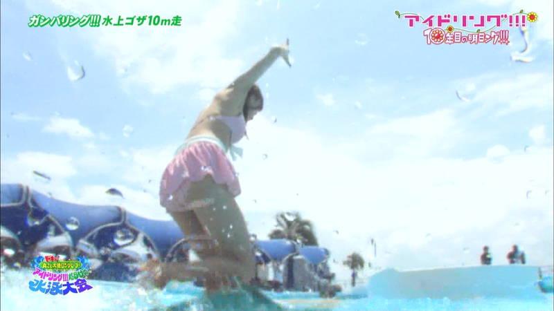 【大川藍キャプ画像】他のグループアイドルメンバーよりも一際大きかった大川藍の巨乳についてwww 26