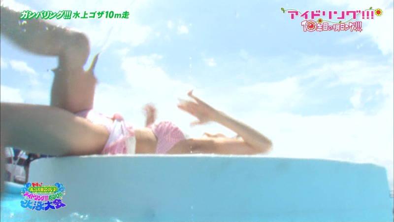 【大川藍キャプ画像】他のグループアイドルメンバーよりも一際大きかった大川藍の巨乳についてwww 28