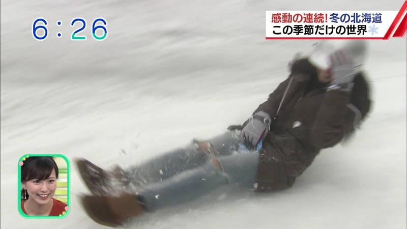 【温泉キャプ画像】雪ロケなのに穴あきジーパンできた女の子が温泉で生き返るwww 04