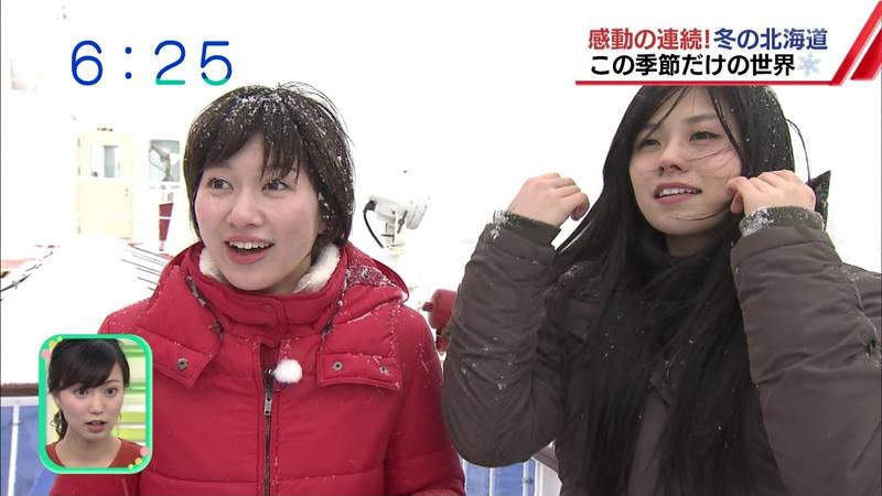 【温泉キャプ画像】雪ロケなのに穴あきジーパンできた女の子が温泉で生き返るwww 30