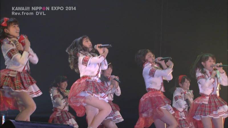 【ライブキャプ画像】Kawaii Nippon Expoがパンチラ祭りだったと聞いてwww 04