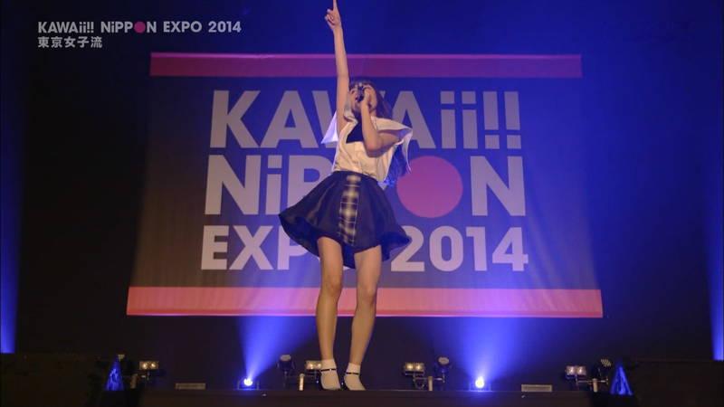 【ライブキャプ画像】Kawaii Nippon Expoがパンチラ祭りだったと聞いてwww 11