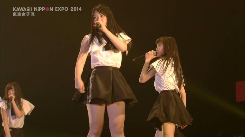 【ライブキャプ画像】Kawaii Nippon Expoがパンチラ祭りだったと聞いてwww 17