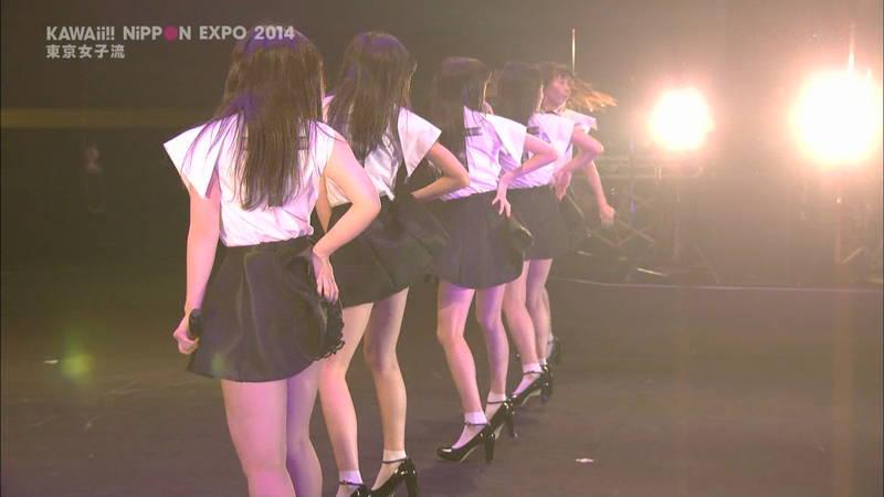 【ライブキャプ画像】Kawaii Nippon Expoがパンチラ祭りだったと聞いてwww 18