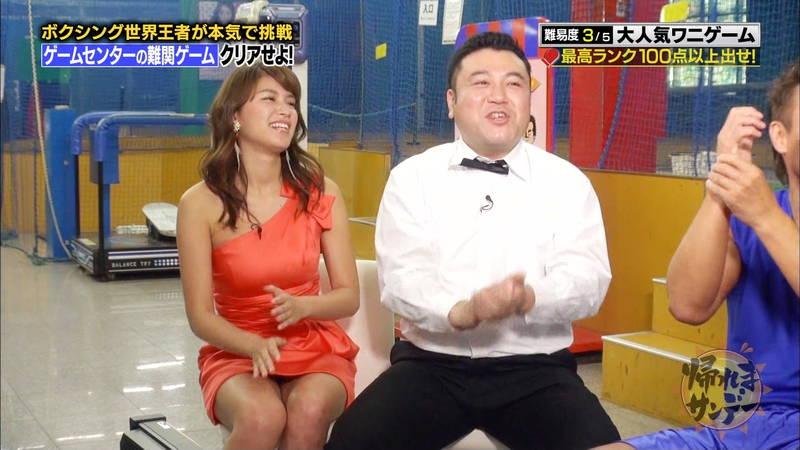 【久松郁実キャプ画像】番組内容をふっ飛ばすレベルでパンチラしまくる久松郁実www 15