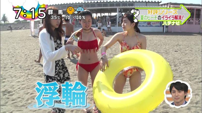 【素人キャプ画像】夏にたくさん映っていたプールやビーチの水着娘たち!w 05
