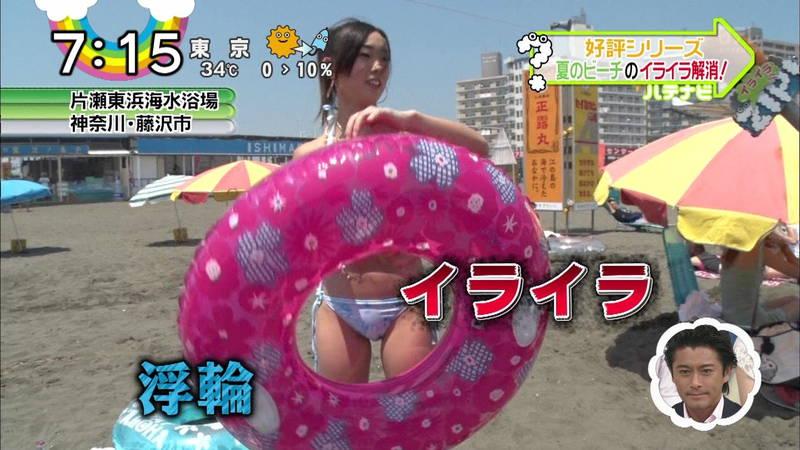 【素人キャプ画像】夏にたくさん映っていたプールやビーチの水着娘たち!w 09