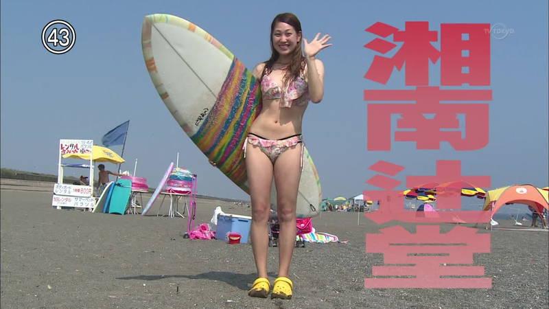 【素人キャプ画像】湘南のビーチでパーリーになってる素人娘がカメラの前でポーズ!w 16