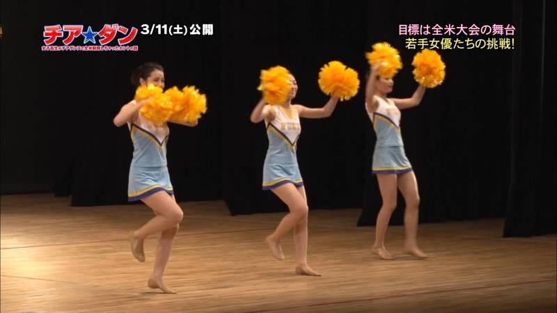 【広瀬すずキャプ画像】チアダンス部の映画が生脚太ももパラダイスな件www 06