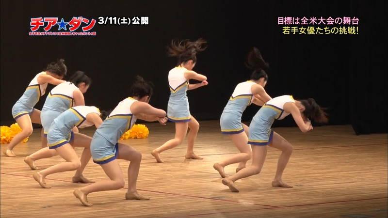 【広瀬すずキャプ画像】チアダンス部の映画が生脚太ももパラダイスな件www 11