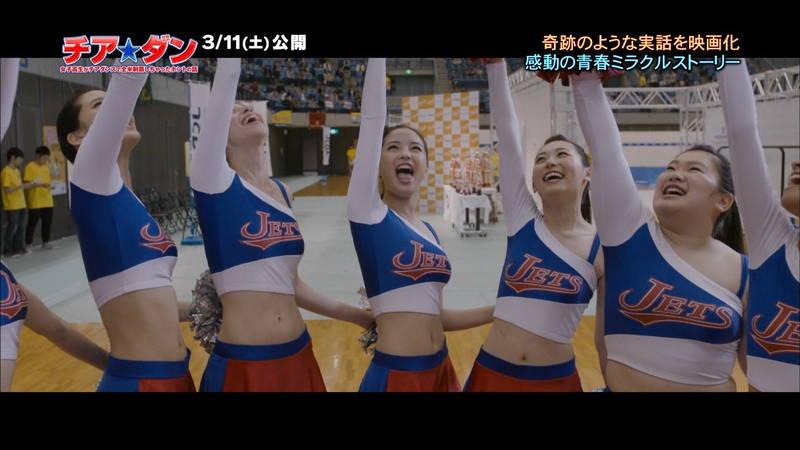 【広瀬すずキャプ画像】チアダンス部の映画が生脚太ももパラダイスな件www 12