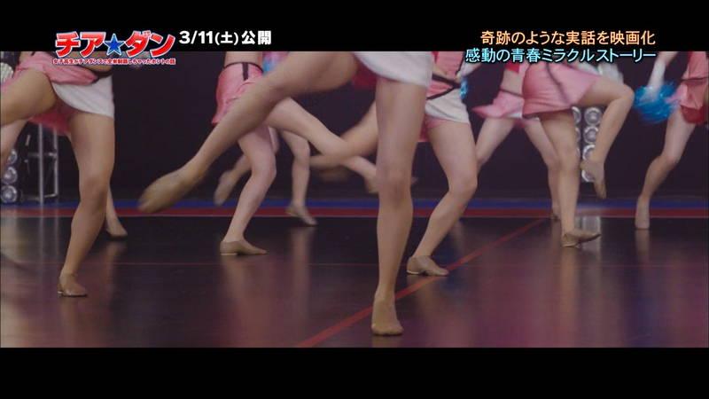 【広瀬すずキャプ画像】チアダンス部の映画が生脚太ももパラダイスな件www 26