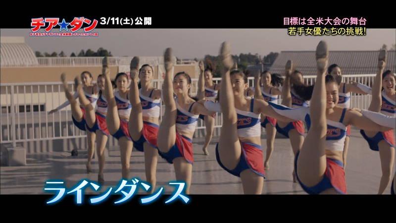 【広瀬すずキャプ画像】チアダンス部の映画が生脚太ももパラダイスな件www 29