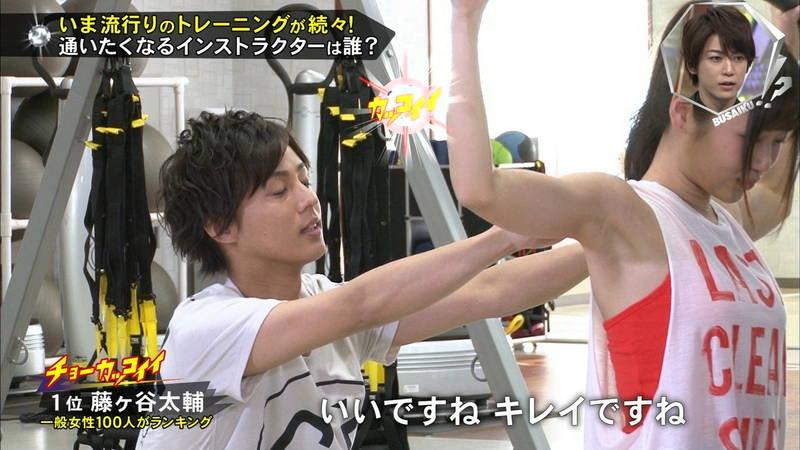 【腋キャプ画像】一所懸命にトレーニングする美女のスレンダーな腋がたまらんwww 13