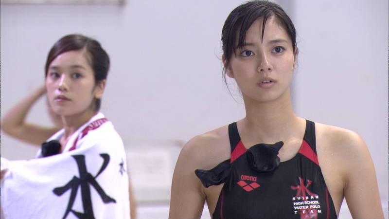 【大政絢キャプ画像】常に競泳水着がエロシーンになってしまう水球ドラマwww 05