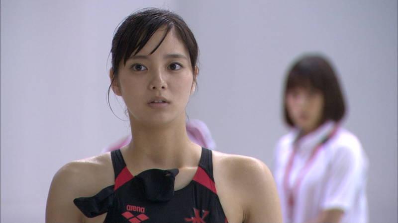 【大政絢キャプ画像】常に競泳水着がエロシーンになってしまう水球ドラマwww 06