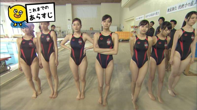 【大政絢キャプ画像】常に競泳水着がエロシーンになってしまう水球ドラマwww 07