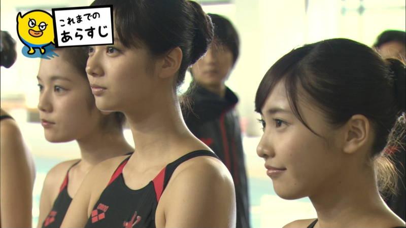 【大政絢キャプ画像】常に競泳水着がエロシーンになってしまう水球ドラマwww 08