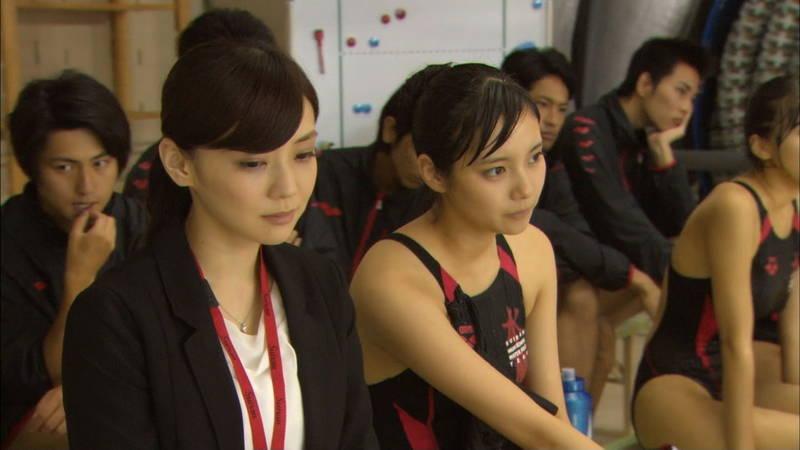 【大政絢キャプ画像】常に競泳水着がエロシーンになってしまう水球ドラマwww 14