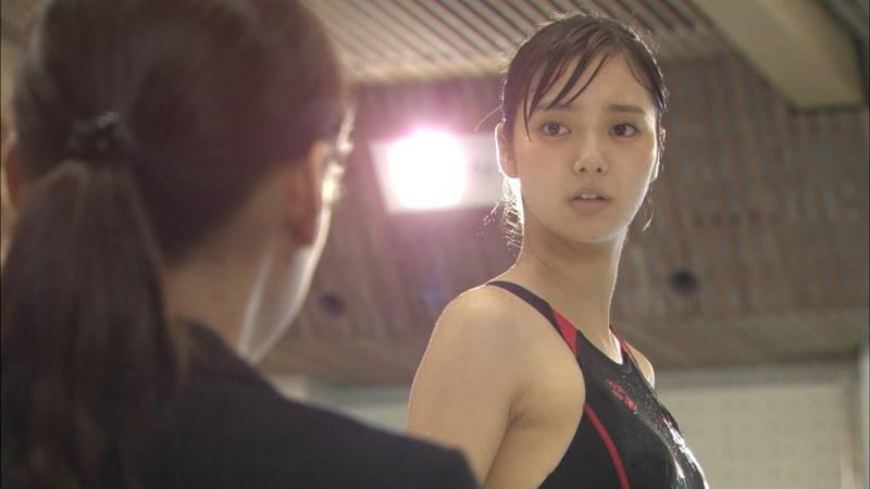 【大政絢キャプ画像】常に競泳水着がエロシーンになってしまう水球ドラマwww 15