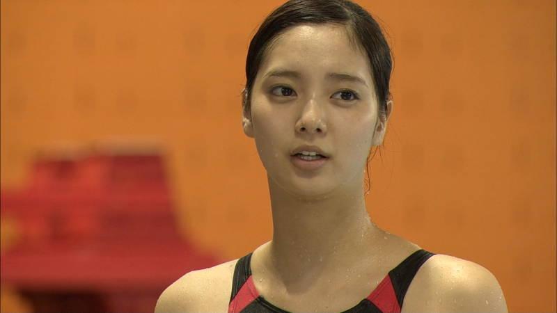 【大政絢キャプ画像】常に競泳水着がエロシーンになってしまう水球ドラマwww 19