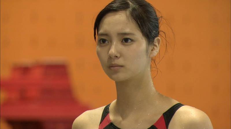 【大政絢キャプ画像】常に競泳水着がエロシーンになってしまう水球ドラマwww 20