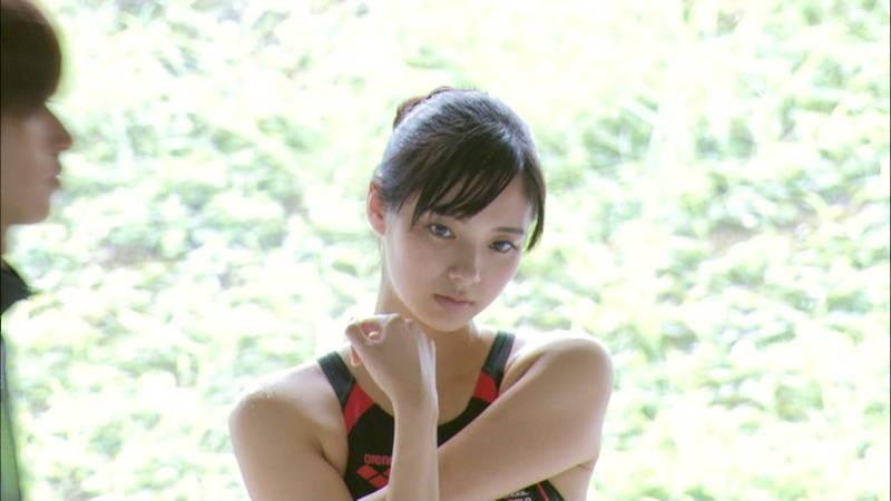 【大政絢キャプ画像】常に競泳水着がエロシーンになってしまう水球ドラマwww 29