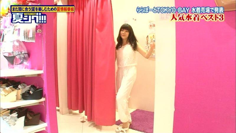 【水着キャプ画像】アイドルが人気のビキニを試着するアレは年中やってくれていいwww 16