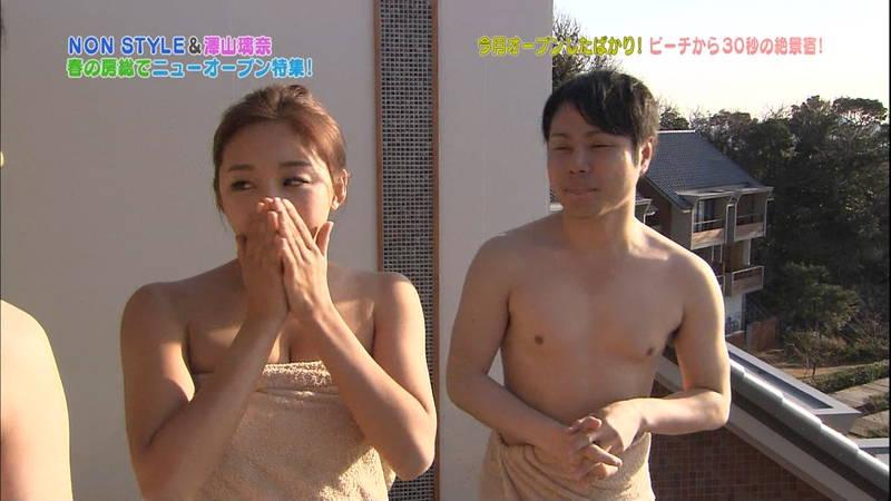 【澤山瑠奈キャプ画像】適度に筋肉が残っている感じが最高にエロい入浴シーンがコレwww 07