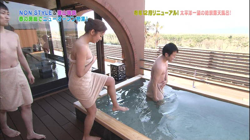 【澤山瑠奈キャプ画像】適度に筋肉が残っている感じが最高にエロい入浴シーンがコレwww 29