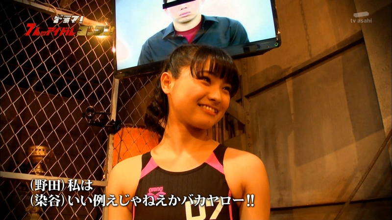 【競泳水着キャプ画像】アイドルがビキニではなく競泳水着を着たらこうなる的なキャプwww 09