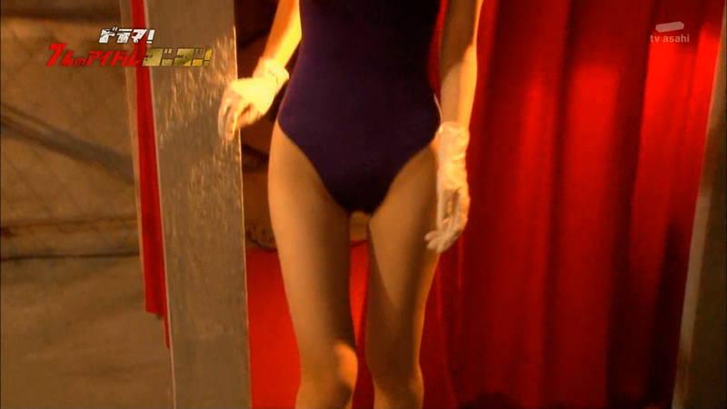 【競泳水着キャプ画像】アイドルがビキニではなく競泳水着を着たらこうなる的なキャプwww 13