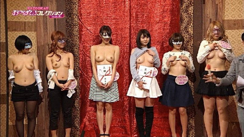 【おっぱいキャプ画像】ガッツリ乳首まで見えてしまっているテレビのキャプチャ画像www 15