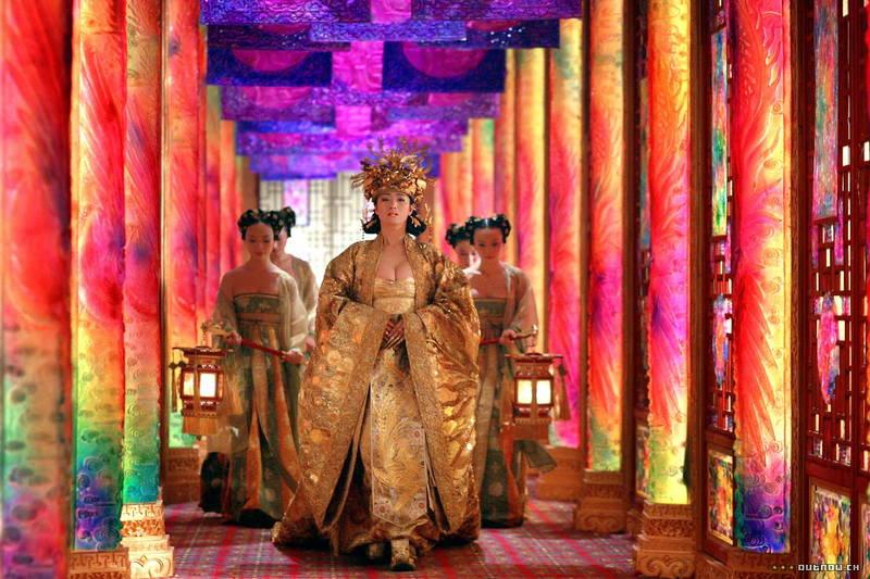 【王妃の紋章キャプ画像】中国映画を普通に観ていたのに気がついたらおっぱいしか見えなくwww 17