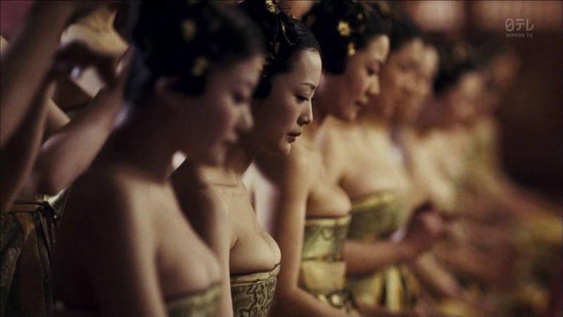 【王妃の紋章キャプ画像】中国映画を普通に観ていたのに気がついたらおっぱいしか見えなくwww 19