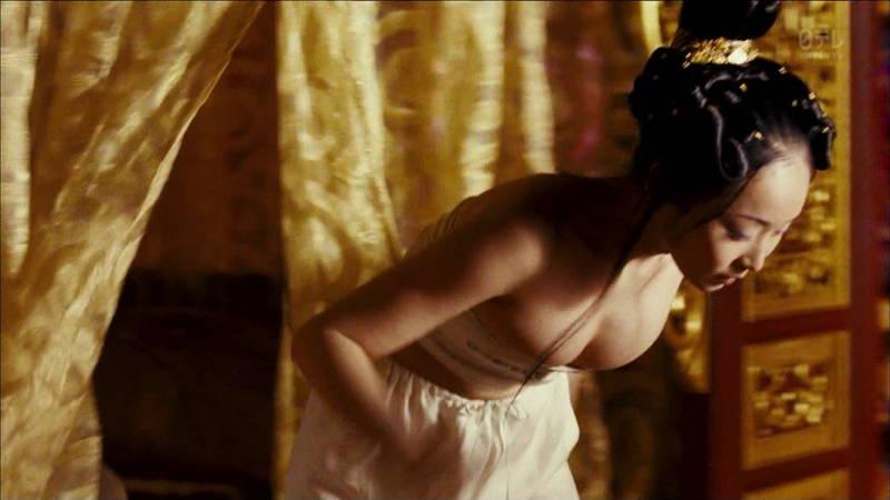 【王妃の紋章キャプ画像】中国映画を普通に観ていたのに気がついたらおっぱいしか見えなくwww 20