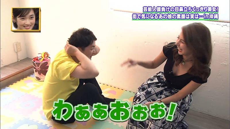【素人キャプ画像】沖縄で評判の南国美女が予想以上に美人で美脚だったwww 19