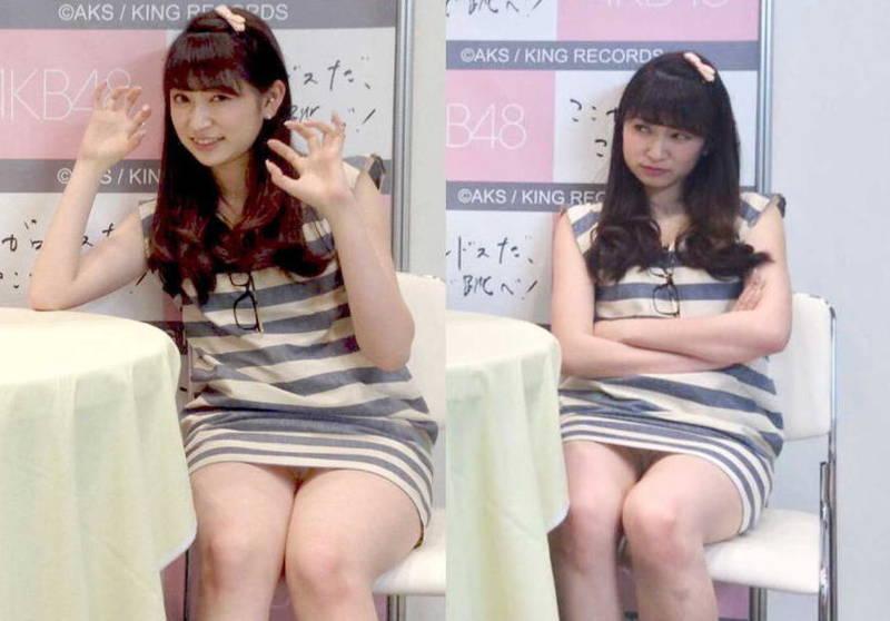 【アイドルキャプ画像】張り切りすぎてテレビでパンツを披露してしまった人気アイドルたちwww 12