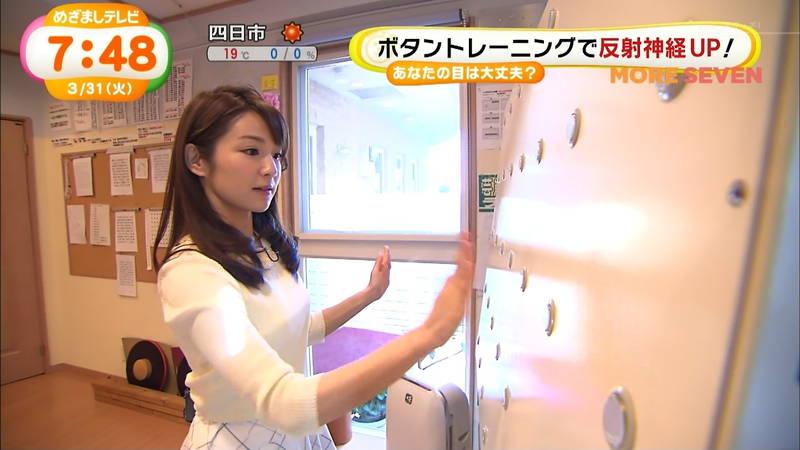 【長野アナキャプ画像】おっぱいの膨らみが凄すぎて企画がどうでもよくなってくる女子アナってwww 03