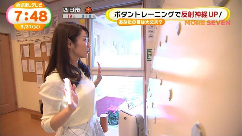 【長野アナキャプ画像】おっぱいの膨らみが凄すぎて企画がどうでもよくなってくる女子アナってwww 04