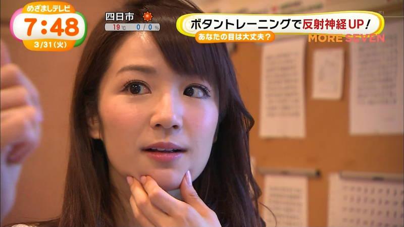 【長野アナキャプ画像】おっぱいの膨らみが凄すぎて企画がどうでもよくなってくる女子アナってwww 05