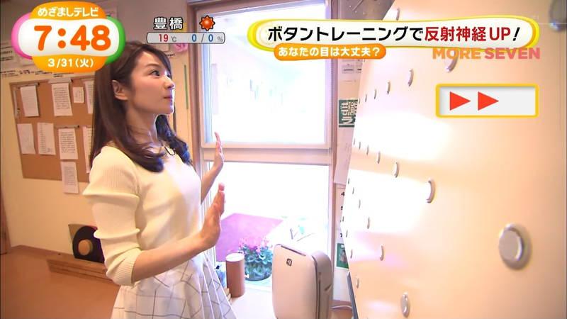 【長野アナキャプ画像】おっぱいの膨らみが凄すぎて企画がどうでもよくなってくる女子アナってwww 07