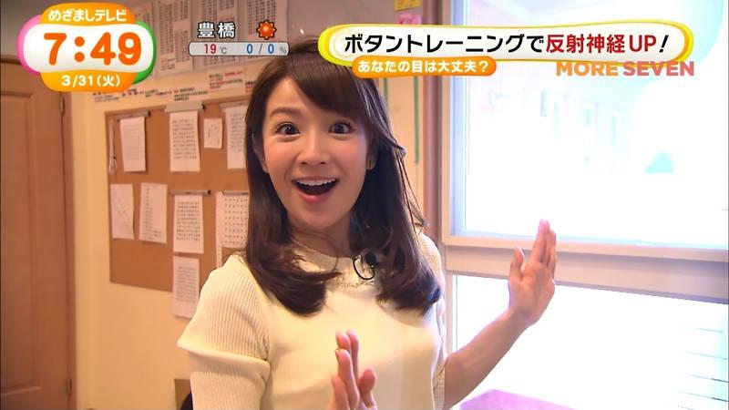【長野アナキャプ画像】おっぱいの膨らみが凄すぎて企画がどうでもよくなってくる女子アナってwww 10