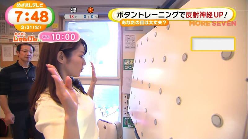 【長野アナキャプ画像】おっぱいの膨らみが凄すぎて企画がどうでもよくなってくる女子アナってwww 27