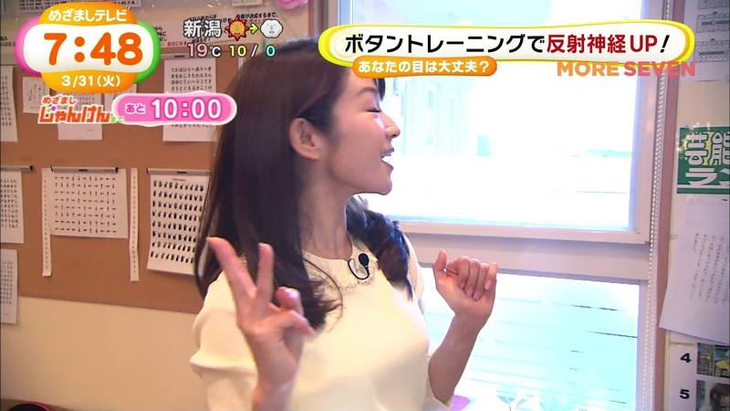 【長野アナキャプ画像】おっぱいの膨らみが凄すぎて企画がどうでもよくなってくる女子アナってwww 28