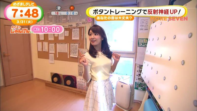 【長野アナキャプ画像】おっぱいの膨らみが凄すぎて企画がどうでもよくなってくる女子アナってwww 30