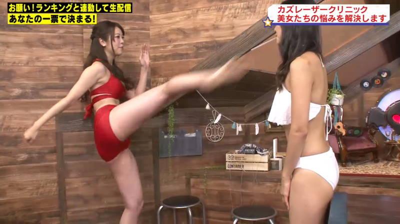 【マンスジキャプ画像】高嶋莉子と薄井美樹が二人ともマンスジ晒した神回があると聞いてwww 05