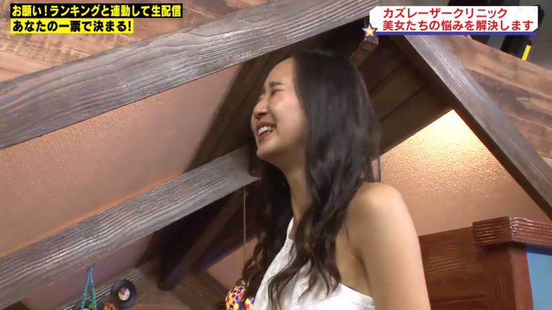 【マンスジキャプ画像】高嶋莉子と薄井美樹が二人ともマンスジ晒した神回があると聞いてwww 06