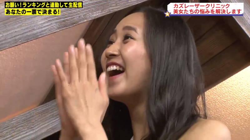 【マンスジキャプ画像】高嶋莉子と薄井美樹が二人ともマンスジ晒した神回があると聞いてwww 07