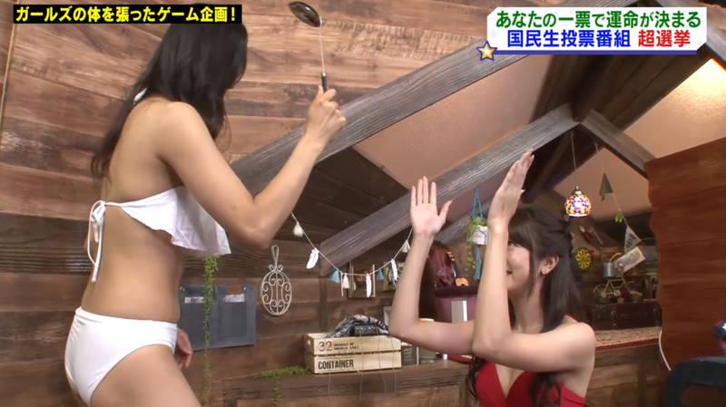【マンスジキャプ画像】高嶋莉子と薄井美樹が二人ともマンスジ晒した神回があると聞いてwww 22